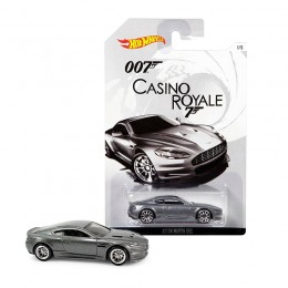 Hot Wheels James Bond  - Casino Royale - CGB78 Samochodzik Aston Martin DBS