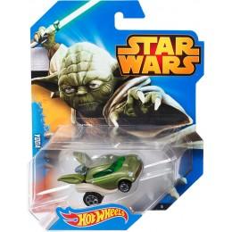 Hot Wheels Star Wars Samochodzik YODA CGW40