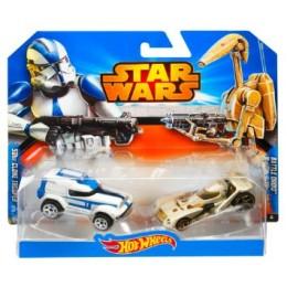 Hot Wheels Star Wars - Clone Trooper vs Droid CGX07