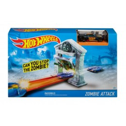 HOT WHEELS DJF03 Zestaw Atak Zombie