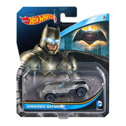 Hot Wheels DC Comics DJM19 Samochodzik Admored Batman