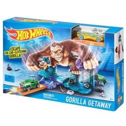 Hot Wheels DLG52 Zestaw Ucieczka Gorilli