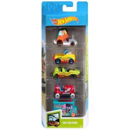 Hot Wheels - Pięciopak samochodzików - Fun Park GHP49