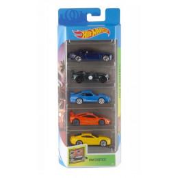 Hot Wheels - Pięciopak samochodzików - Exotics GHP50