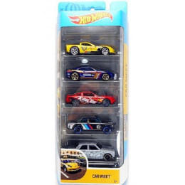 Hot Wheels - Pięciopak samochodzików - Car Meet GHP52