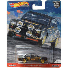 Hot Wheels - Car Culture - '70 Ford Escort RS1600 - FPY86 GJP80