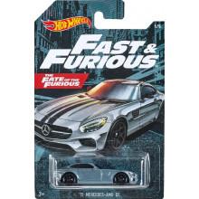 Hot Wheels -  Fast & Furious - '15 Mercedes-AMG GT - GDG44 GJV57