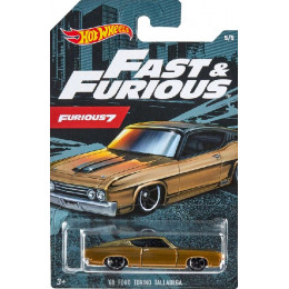 Hot Wheels -  Fast & Furious - '69 Ford Torino Talladega - GDG44 GJV61