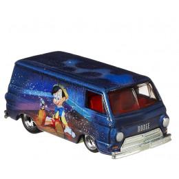 Hot Wheels - Metalowe autko z bajki – Pinokio – '66 Dodge A100 FYN87