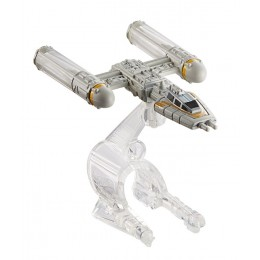 Hot Wheels Star Wars CGW59 Statek kosmiczny Y-Wing Fighter