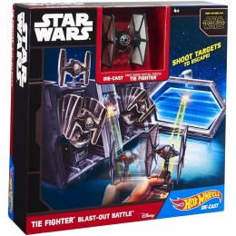 Hot Wheels Star Wars CMT37 Tie Fighter Ostrzał