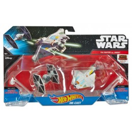 Hot Wheels Star Wars DLP58 - Kosmiczny Dwupak: Tie Fighter vs Ghost