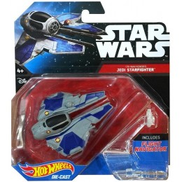 Hot Wheels Star Wars Statek kosmiczny Jedi Starfighter CGW65