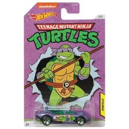 Hot Wheels – Wojownicze Żółwie Ninja – Rrroadster - Samochodzik Donatello GJV10