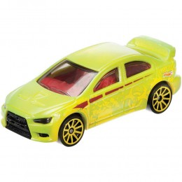 Hot Wheels Auto zmieniające kolor - Mitsubishi Lancer Evolution - BHR15 FPC54