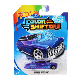 Hot Wheels Auto Zmieniające Kolor - Purple Passion - BHR15 BHR52