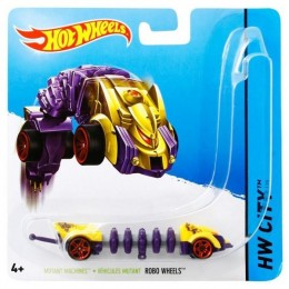 Hot Wheels - Samochodzik Mutant - Robo Wheels BBY86