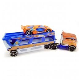 Hot Wheels - Ciężarówka Road Rally z wyścigówką - BDW58