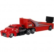 Hot Wheels - Ciężarówka Rock n' Race z wyścigówką - BDW59