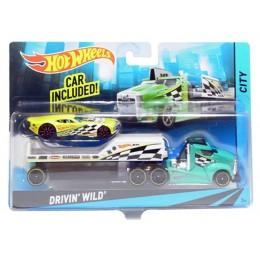 Hot Wheels - Ciężarówka Drivin' Wild BDW60