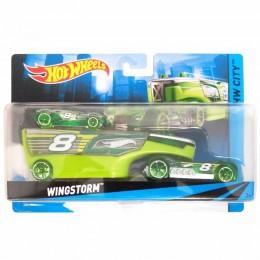 Hot Wheels CGC24 Autko i Ciężarówka WINGSTORM