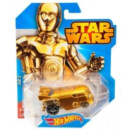 Hot Wheels Star Wars - CGW45 Samochodzik C-3PO