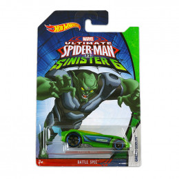 Hot Wheels - Spiderman vs Sinister - Battle Spec - CMJ79 CMJ87