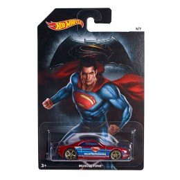 Hot Wheels - Superman - Samochodzik Muscle Tone DJL54