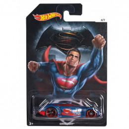 Hot Wheels - Superbohaterowie - Superman - Covelight DJL47 DJL53
