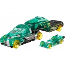 Hot Wheels - Ciężarówka X-Trayn z wyścigówką - DKF83