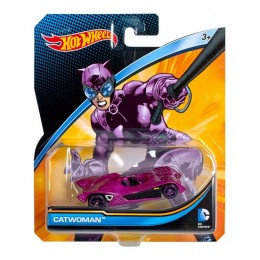 Hot Wheels DC Comics DMM15 Samochodzik Catwoman