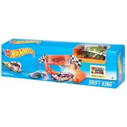 Hot Wheels - Król Driftu - Wyrzutnia z samochodzikiem DNN77 DWY51