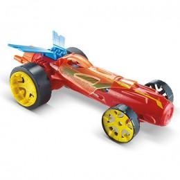Hot Wheels Autonakręciaki Duża wyścigówka czerwona DPB65