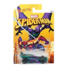 Hot Wheels - Spider Man - Samochodzik Drift King DWD20