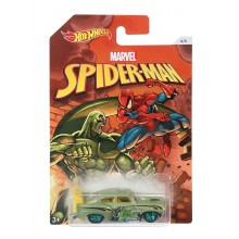 Hot Wheels - Spider Man - Samochodzik Jaded DWD21