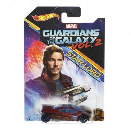 Hot Wheels - Strażnicy Galaktyki - Samochodzik Star-Lord DWD74