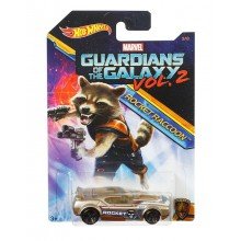 Hot Wheels - Strażnicy Galaktyki - Samochodzik Fast Fish Rocket Racoon DWD75