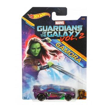 Hot Wheels - Strażnicy Galaktyki - Samochodzik Scorcher Gamora DWD76