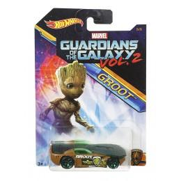 Hot Wheels - Strażnicy Galaktyki - Samochodzik Solar Reflex Groot DWD77