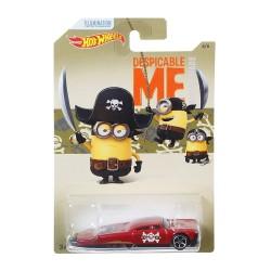 Hot Wheels - Minionki - Samochodzik Slikt Back DWF13