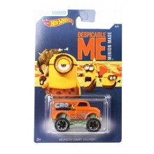 Hot Wheels - Minionki - Samochodzik Monster Dairy Delivery DWF14
