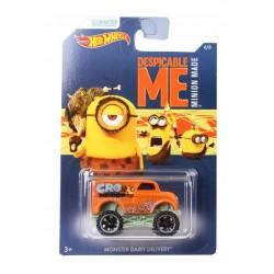 Hot Wheels - Minionki - Samochodzik Monster Dairy Delivery DWF14