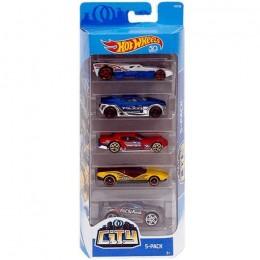 Hot Wheels - Pięciopak samochodzików - City FKT52