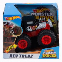 Hot Wheels – Monster Trucks Rev Tredz - Bone Shaker - FYJ76