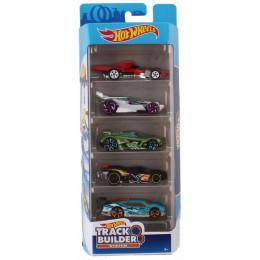 Hot Wheels Track Builder - Pięciopak samochodzików – FYL22