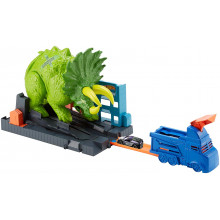 Hot Wheels - Starcie z Triceratopsem - GBF97