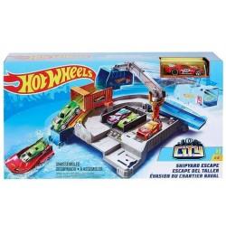 Hot Wheels – Ucieczka z portu + samochodzik GGF90