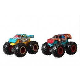 Hot Wheels – Monster Trucks - Dwupak pojazdów: Raijyu vs Koumori – GJF66