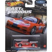 Hot Wheels – Fast & Furious – '95 Mazda RX-7 –  GBW75 GJR76