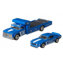 Hot Wheels - Car Culture – Ford Mustang  Boss 302 + Retro Rig - GJT38